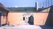 Entrance to Theresienstadt concentration camp Photo: Liat Gross