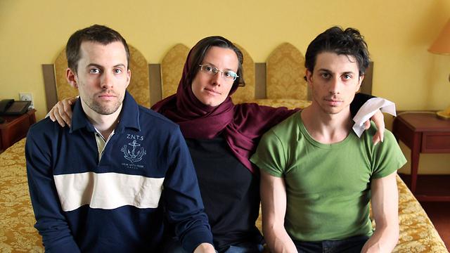 Shane Bauer, Sarah Shourd and Josh Fattal (Photo: AP) (Photo: AP)