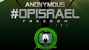 #OpIsrael promotional material