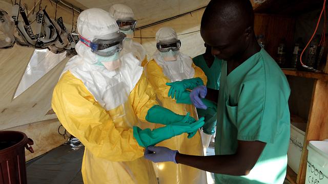 התפרצות האבולה. 90% מתים (צילום: AFP)