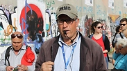 Tour of West Bank wall Photo: Margarita Erbach