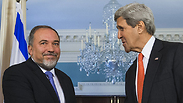 Kerry and Lieberman (Archive) Photo: AFP