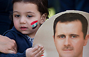 Support rally for Assad Photo: AP