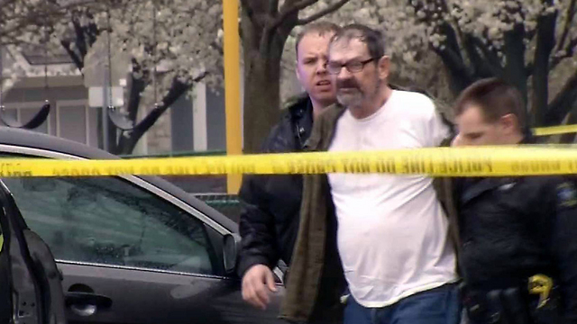 White supremacist Frazier Glenn Cross, who killed three people at two Jewish facilities in Kansas City. 'This can happen in your own neighborhood' (AP Photo/KCTV-5)