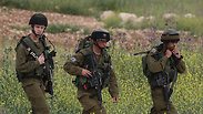 IDF soldiers near Hebron Photo: Gil Yohanan