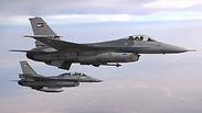 Royal Jordanian Air Force F-16 aircrafts