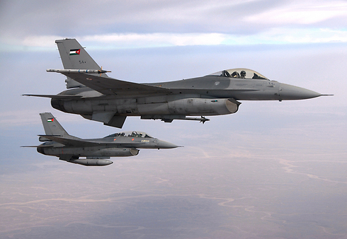 Jordanian Air Force F-16