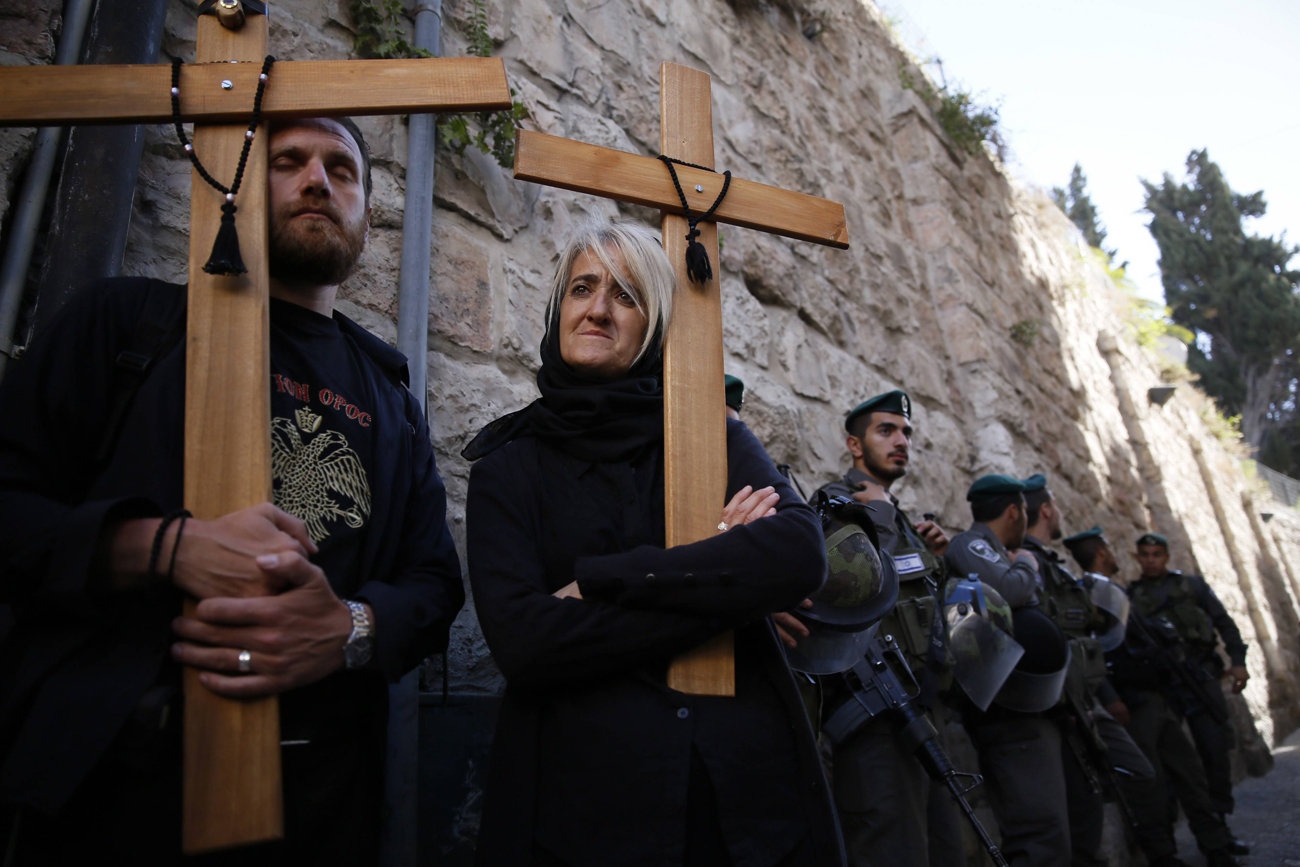 Border Gaurds stand by (Photo: AFP)