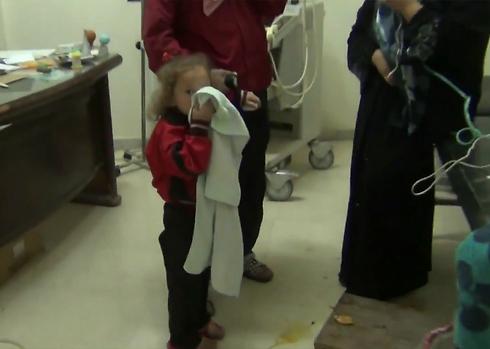 סוריה נפגע נפגעים תקיפה כימית פצועים מלחמה