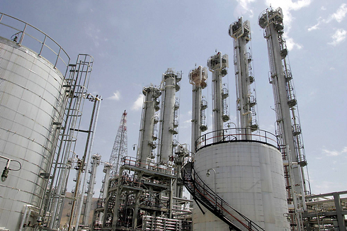 The nuclear reactor at Arak. (Photo: AP) (Photo: AP)