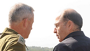 Moshe Ya'alon, right, and Benny Gantz Photo: Avihu Shapira