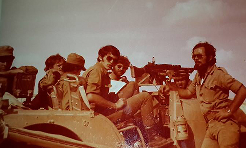 Soldiers in Regiment 600 during Yom Kippur War (Photo: IDF Spokesperson's Unit) Photo: IDF Spokesperson's Unit