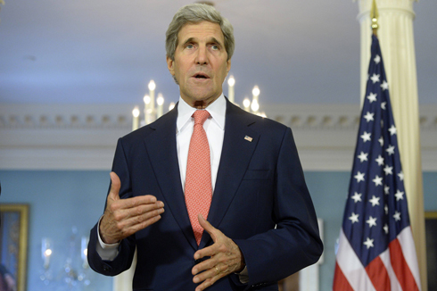 US Secretary of State John Kerry (Photo: EPA) Photo: EPA