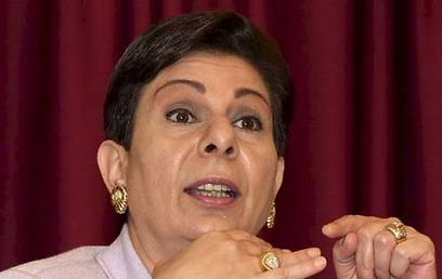 Hanan Ashrawi spoke on Palestinian unity in an interview with the BBC (Photo: AP) (Photo: AP)