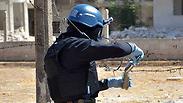 UN inspectors in Syria Photo: AP