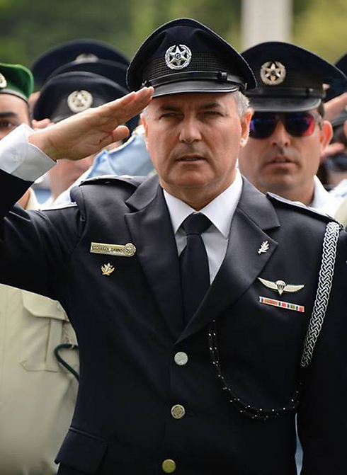 Police Commissioner Yohanan Danino at the March of the Living in Budapest.