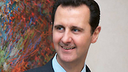 Bashar Assad. Has full support of Druze residents of Golan Heights Photo: AFP