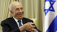 As always, President Peres is optimistic Photo: Gil Yohanan
