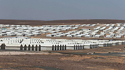 View of new Azraq refugee camp Photo: Reuters