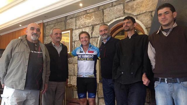 בקרוב אצלנו. פארמר בתחילת המירוץ בלבנון (צילום: ברוק פארמר)