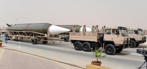 Saudi Arabia's Ballistic Missiles (Photo: Fisher Institute) (Photo: Fisher Institute)