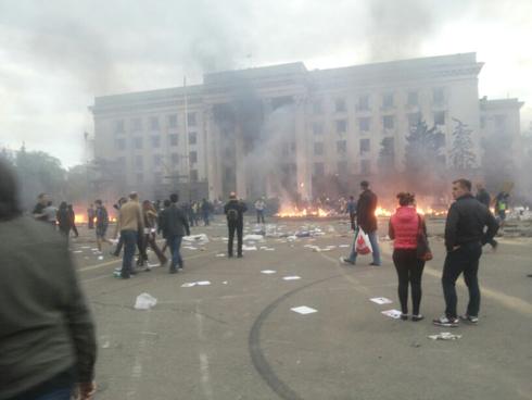 Odessa hostilities (Photo: Gonen Sivoni)