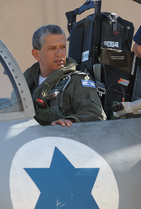 The man in charge of the war in the north. IAF Commander Eshel (Photo: Air Force Media)