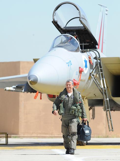 Israel Air Force Commander Major-General Amir Eshel