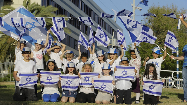 New olim celebrate first Independence Day in Israel (Photo: Gadi Cavalo)