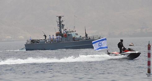 Israeli Navy flotilla in Eilat (Photo: Meir Ohayon)