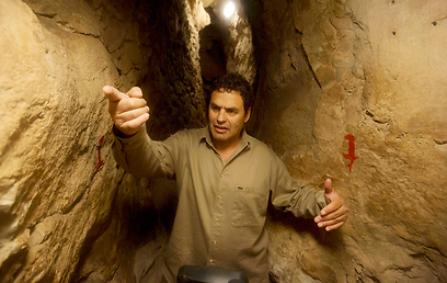Israeli archaeologist Eli Shukron give a tour of what he claims to be King David's legendary citadel. (Photo: AP)