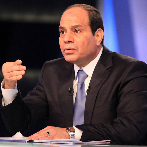 President Sisi faces extremist groups from Libya as well as Ansar Bait al-Maqdis in Sinai. (Photo: AFP) (Photo: AFP)