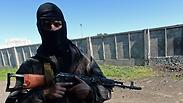 Pro-Russian militia in Slaviansk Photo: AFP