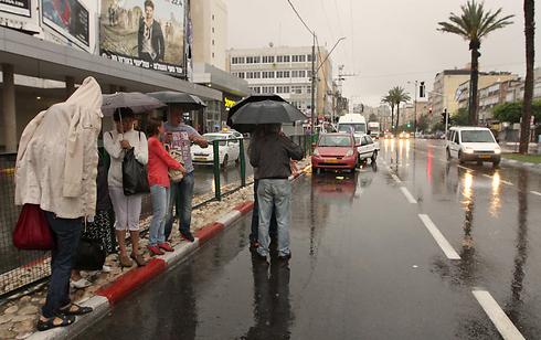 Stormy weather hits Netanya (Photo: Ido Erez) (Photo: Ido Erez)