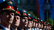 Military parade at Red Square Photo: Reuters