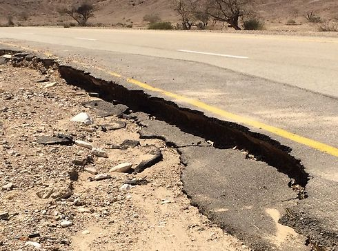 Highway 90 even collapsed in some places from the weight of the floods. (Photo: Police Spokesperson's Unit)