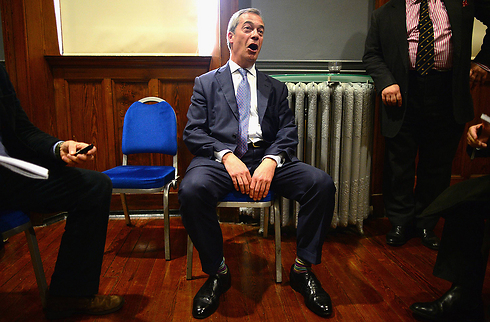 Nigel Farage, leader of UK far-right party UKIP (Photo: Gettyimages)