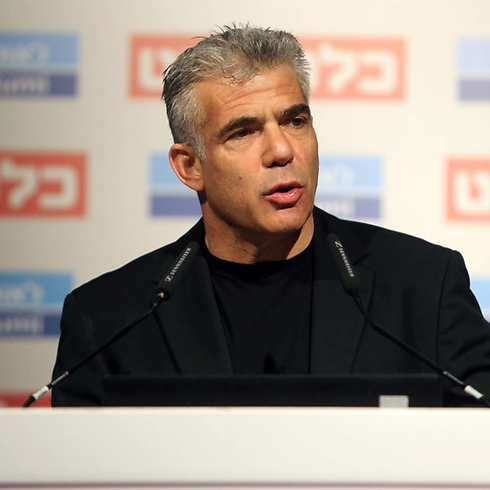 "Yair Lapid: ""There is money buried somewhere between Yitzhar and Itamar, which could have given us smaller school classes, better healthcare, narrower gaps between rich and poor ... and a stronger army."" (Photo: Nimrod Glickman) (Photo: Nimrod Glickman)"