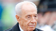 Peres in Norway Photo: Reuters