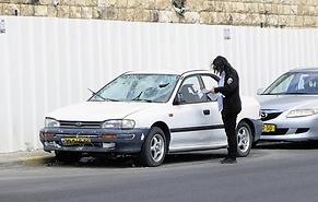 רשמה דוח והותקפה צילום: שלומי כהן