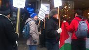 Anti-Israel protest in Canada Photo: Shani Bar-Oz