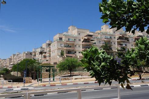 """שכונת רמות בבאר שבע. השוק """"היוקרתי"""" (צילום: הרצל יוסף)"""