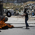 Riots in West Bank Photo: Reuters