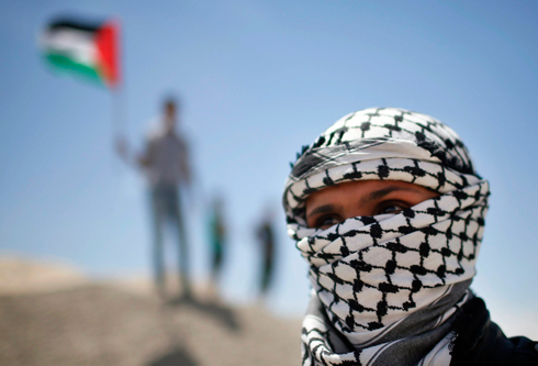 Clashes in Gaza (Photo: Reuters) Photo: Reuters