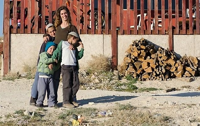 Moriya and her three boys (Photo: Avital Hirsch)