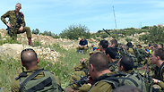 IDF Chief Benny Gantz addresses troops during a drill Photo: IDF Spokesman