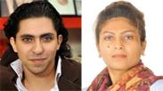 Badawi (left) and Haider