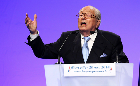 "Jean-Marie Le Pen: ""These were the enemies of the FN who only recently demanded the party's dissolution"" (Photo: MCT)"