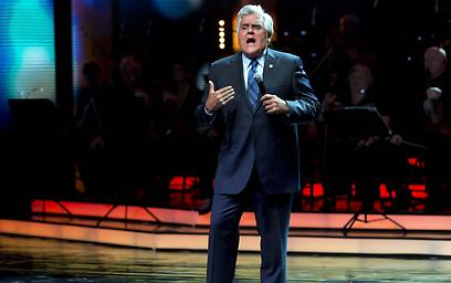 TV comedian Jay Leno hosting the ceremony (Photo: AFP)
