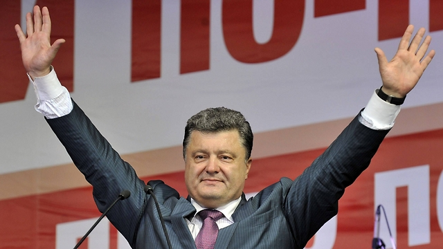 The new president of Ukraine, Petro Poroshenko (Photo:AFP)